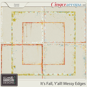 It's Fall Y'all Messy Edges by Aimee Harrison