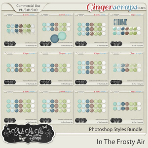 In The Frosty Air Photoshop Styles Bundle