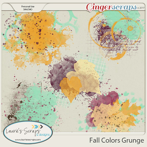 Fall Colors Grunge