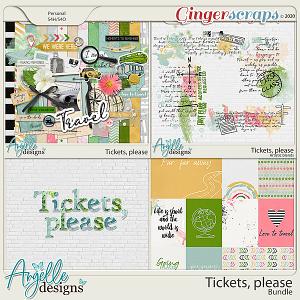 Tickets, please. Bundle by Angelle Designs