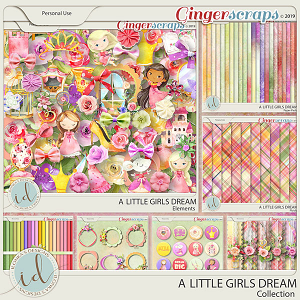 A Little Girls Dream Collection by Ilonka's Designs