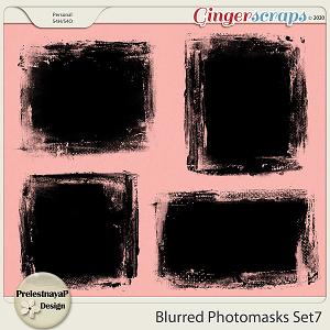 Blurred Photomasks Set7