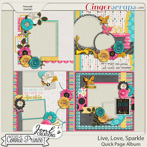 Live, Love, Sparkle  - Quick Pages