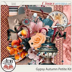 Gypsy Autumn Petite Kit by ADB Designs