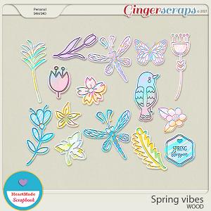 Spring vibes - wood