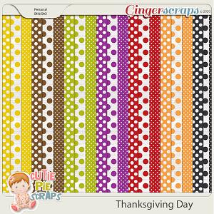 Thanksgiving Day-Pattern BG