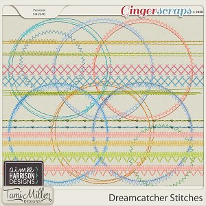 Dreamcatcher Stitches by Aimee Harrison and Tami Miller