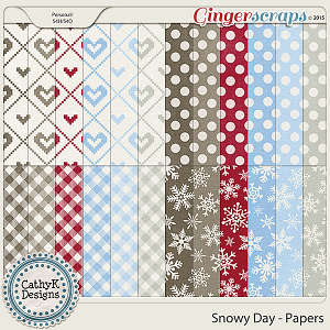 Snowy Day - Extra Papers