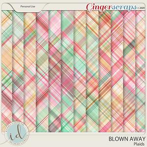 Blown Away Plaids by Ilonka's Designs