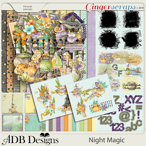 Night Magic Bundle by ADB Designs