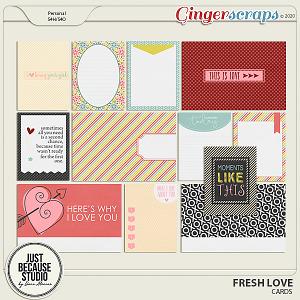 Fresh Love Cards by JB Studio