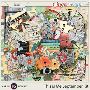 This is Me September Kit by Snickerdoodle Designs