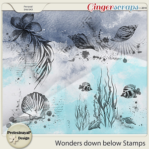 Wonders down below Stamps