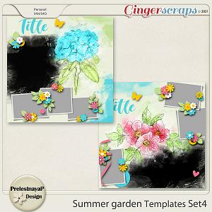 Summer garden Templates Set4