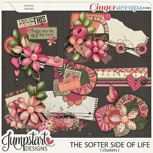 The Softer Side of Life {Clusters} by Jumpstart Designs