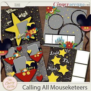 The Cherry On Top: Calling All Mouseketeers Templates
