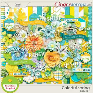 Colorful spring - kit