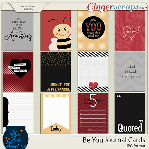 Be You Journal Cards by Miss Fish