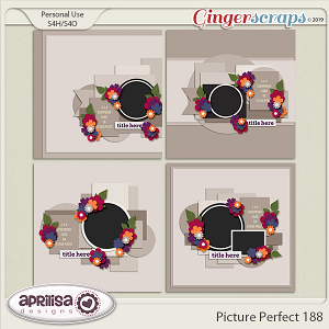 Picture Perfect 188 - Template Pack by Aprilisa Designs
