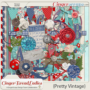 GingerBread Ladies Collab: Pretty Vintage