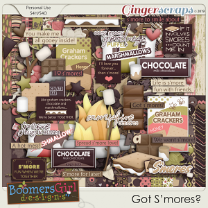 Got S'mores? by BoomersGirl Designs
