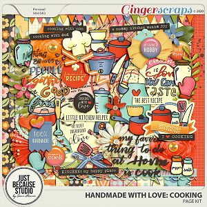 Homemade With Love: Cooking Page Kit by JB Studio