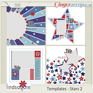 Templates - Stars 2 by Lindsay Jane