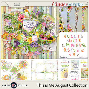This is Me August Collection by Snickerdoodle Designs