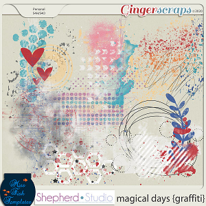 Magical Days Graffiti Add On by Miss Fish and Shepherd Studios
