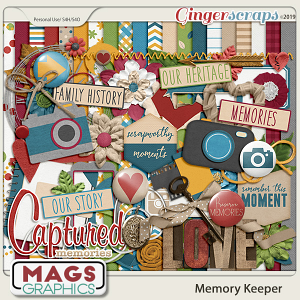 Memory Keeper KIT by MagsGraphics
