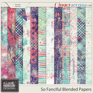 So Fanciful Blended Papers by Aimee Harrison