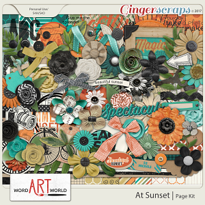 At Sunset Page Kit