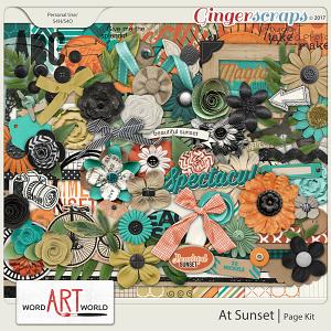 At Sunset Page Kit