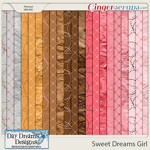 Sweet Dreams Girl {Extra Papers} by Day Dreams 'n Designs