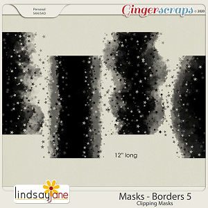 Masks Borders 5 by Lindsay Jane