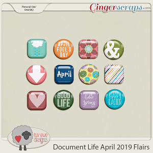 Document Life April 2019 Flairs by Luv Ewe Designs