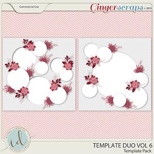 Template Duo Vol 6 by Ilonka's Designs