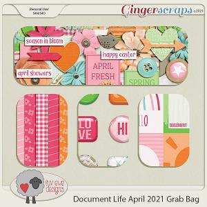 Document Life April 2021 Grab Bag by Luv Ewe Designs