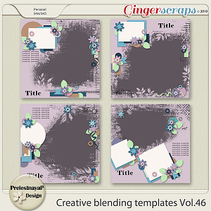 Creative blending templates Vol.46