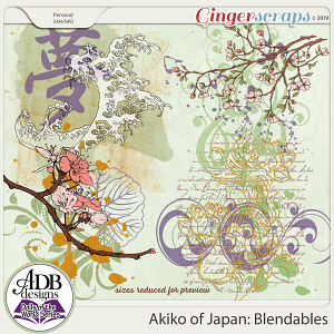 Akiko Blendables {DOTW - Japan} by ADB Designs