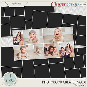 Photobook Creater Vol 8 by Ilonka's Designs