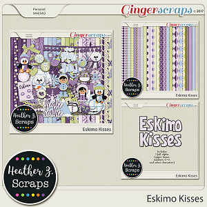 Eskimo Kisses BUNDLE by Heather Z Scraps