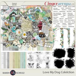 Love My Dog Collection by Karen Schulz