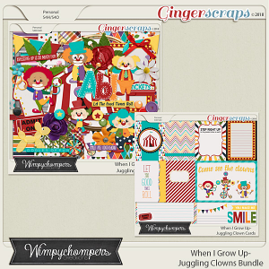 When I Grow Up- Juggling Clown Bundle