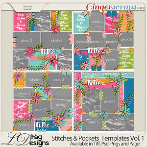 Stitches & Pockets Vol.1 by LDrag Designs