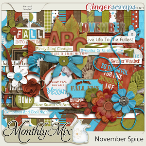 Monthly Mix: November Spice