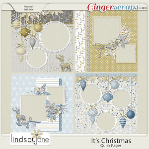Its Christmas Quick Pages by Lindsay Jane
