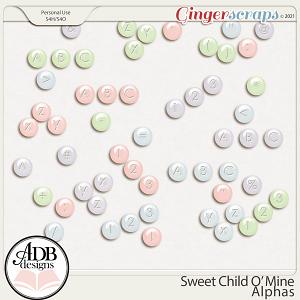 Sweet Child 'O Mine Alphas by ADB Designs
