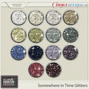 Somewhere in Time Glitters by Aimee Harrison