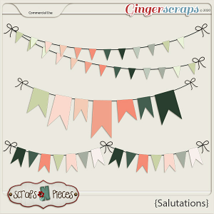 Salutations CU Banners - Scraps N Pieces